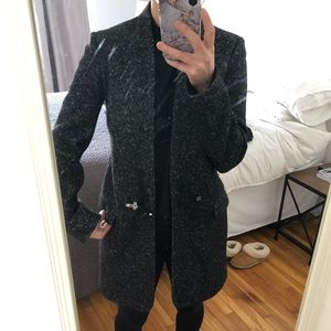 Fay overcoat Size xs charcoal